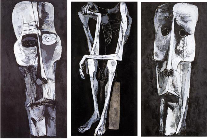 Oswaldo Guayasamin, Waiting